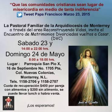 invitación 23 y 24 de Mayo